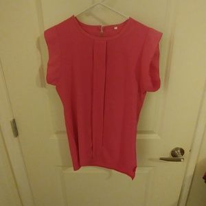 Fusia pink Blouse new never worn